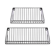 Wall Mounted Wire Shelves - Set of 2 | M&W