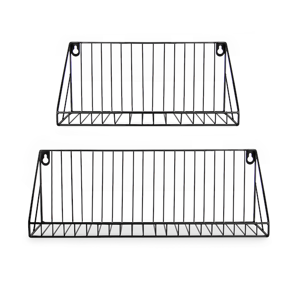 Wall Mounted Wire Shelves - Set of 2 | M&W IHB USA (NEW)