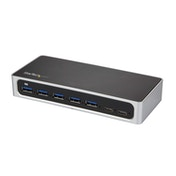 StarTech 7-Port USB-C Hub - USB-C to 5x USB-A and 2x USB-C - USB 3.0