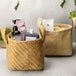 Cotton Jute Storage Baskets - Pack of 2 | M&W - Image 5