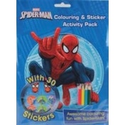 Marvel Spider-Man Colouring & Sticker Activity Pack : Awesome Colouring Fun with Spider-Man!