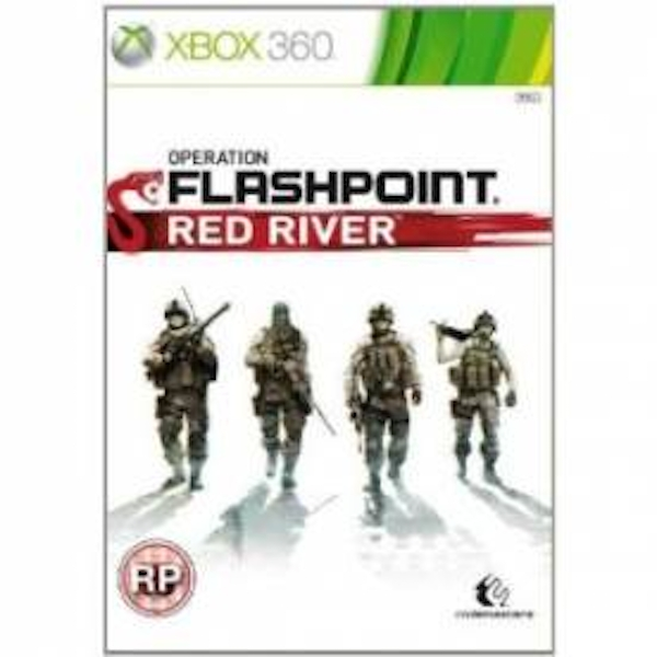 Operation Flashpoint Red River Game Xbox 360