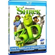Shrek 1 2 3 in 3D Blu-Ray