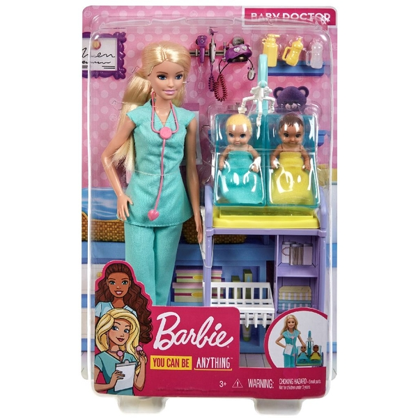 Barbie Baby Doctor Doll - Image 1