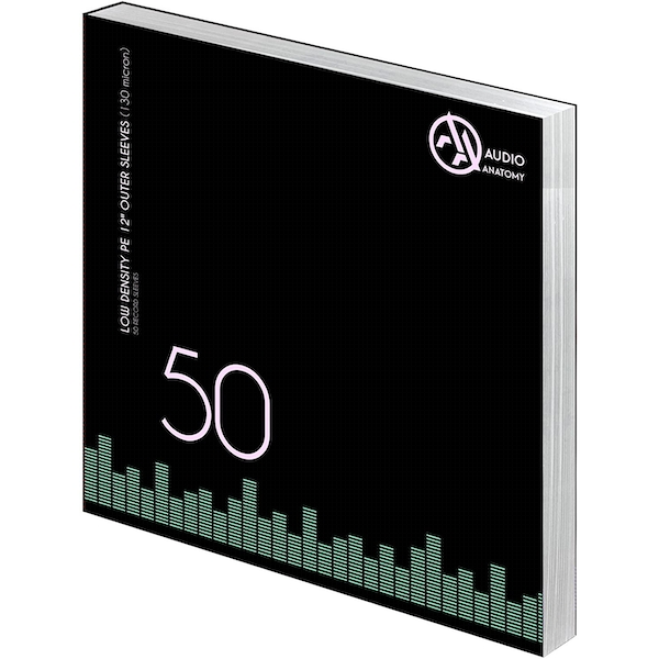 50 X 12 Inch PE Outer Sleeves (130 Micron)