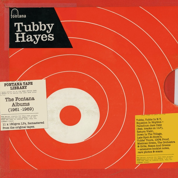 Tubby Hayes - The Complete Fontana Albums (1961-1969) Vinyl