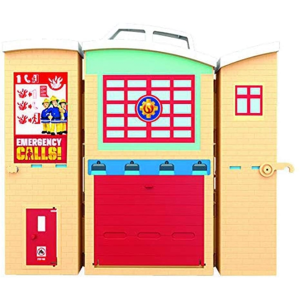 Fireman Sam Fire Rescue Centre Fire Station Playset [Damaged Packaging]