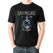 Harry Potter - Ravenclaw Varsity Crest Men's Medium T-Shirt - Black