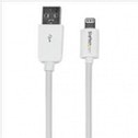 StarTech.com 2m lange witte Apple 8-polige Lightning-connector-naar-USB-kabel voor iPhone-iPod-iPad