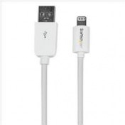 StarTech (2m) Long White Apple 8-pin Lightning Connector to USB Cable for iPhone iPod iPad