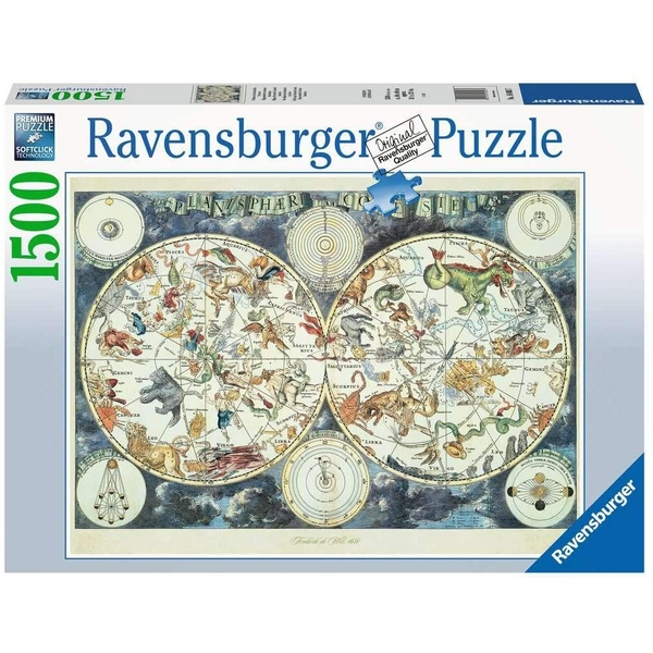World Map Jigsaw Puzzle - 1500 Pieces