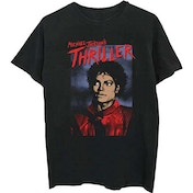 Michael Jackson - Thriller Pose Men's X-Large T-Shirt - Black