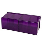 Dragon Shield Storage Box With 4 compartments - Purple