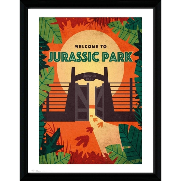 Jurassic Park - Welcome Collector Print