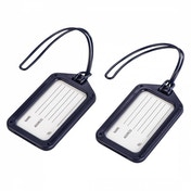 Hama Luggage Tag Set of 2 Dark-Blue