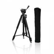 Action 165 3D Tripod with 3-Way Head and Spikes Height: 165cm