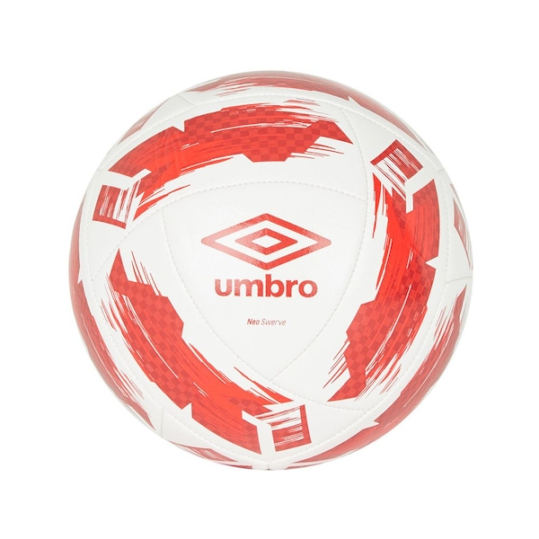 Umbro Neo Swerve Football White Red Size 3