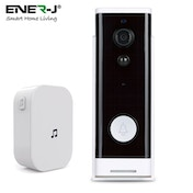 ENER-J PRO Series Smart Wi-Fi Video Doorbell with Motion Detection & Plug In Chime