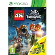 Lego Jurassic World Toy Edition Xbox 360 Game (with Gallimimus Dinosaur)
