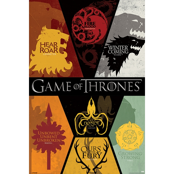 Game of Thrones - Sigils Maxi Poster - Image 1