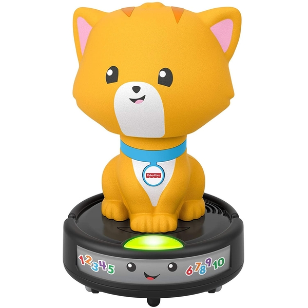 Fisher Price Laugh And Learn - Crawl-after Cat On A Vac Toy