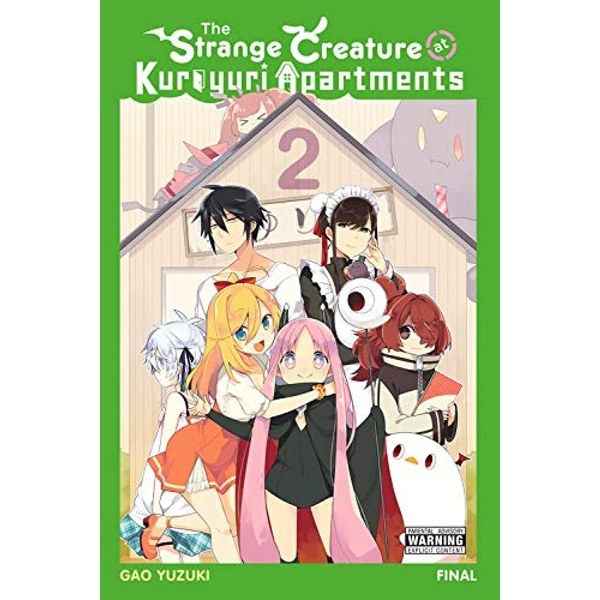 The Strange Creature at Kuroyuri Apartments, Vol. 2