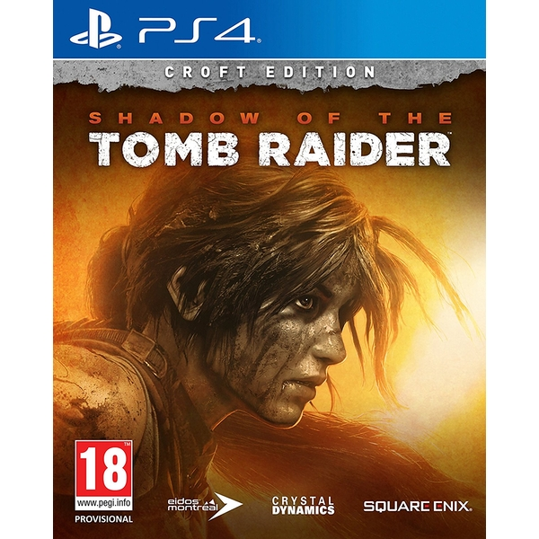 Shadow Of The Tomb Raider Croft Edition PS4 Game