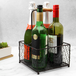 4 Bottle Holder with Wooden Handle | M&W - Image 6