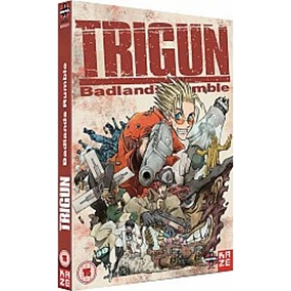 Trigun Movie Badlands Rumble DVD