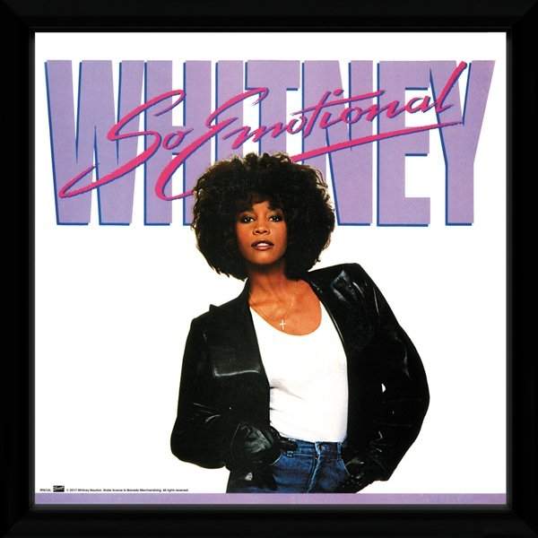Whitney Houston So Emotional Framed Album Print - Image 1