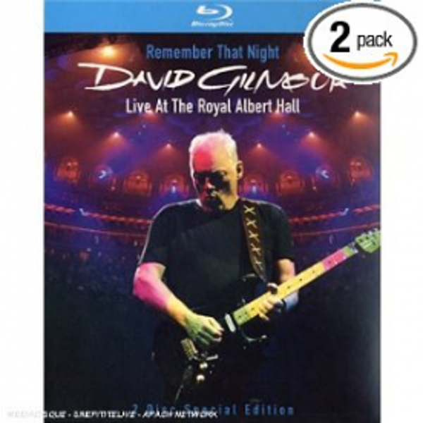 David Gilmour - Remember That Night - Live At The Royal Albert Hall [Blu-ray] [2006]