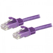 StarTech Purple Snagless Cat6 Patch Cable 0.5m