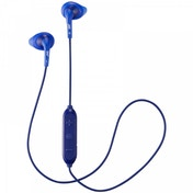 JVC HAEN10BTAE Gumy Sports Wireless Bluetooth In Ear Headphones Blue
