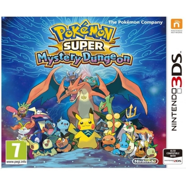 Pokemon Super Mystery Dungeon 3DS Game - Image 1