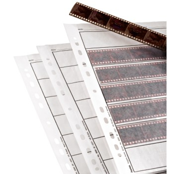 Hama Negative Sleeves, Parchment, 7 Strips of 6 Negatives, 24x36 mm, 100 pcs.
