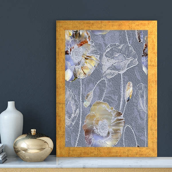 AC1061853800 Multicolor Decorative Framed MDF Painting