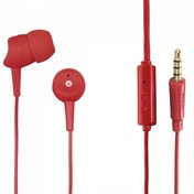 Hama Basic In-Ear Headset, red