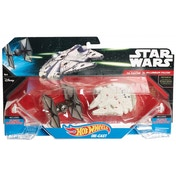 Hot Wheels Tie Fighter v. Millennium Falcon (Star Wars) Die Cast