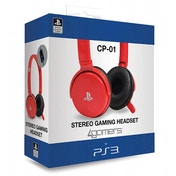 CP-01 Stereo Gaming Headset PS3 Red