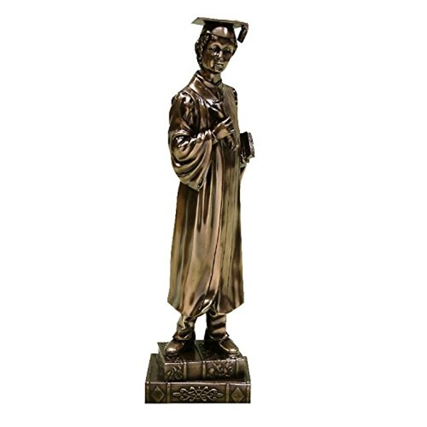 Bronze Graduation Figurine - Boy