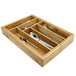 Bamboo Extending Cutlery Drawer | M&W - Image 6