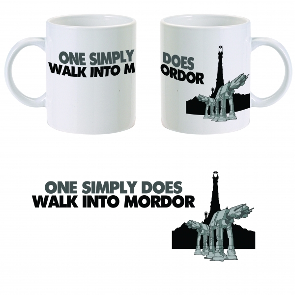 Star Wars Mordor Walker Mug ZT