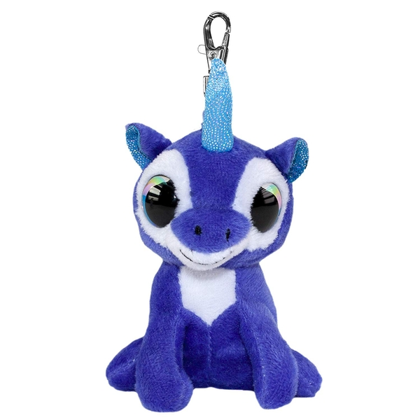 Lumo Stars Mini Keyring Unicorn Velvet Plush Toy