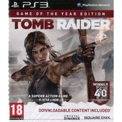 Tomb Raider Game Of The Year (GOTY) Game PS3