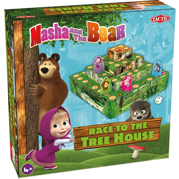 Masha and the Bear - Race to the Tree House Game