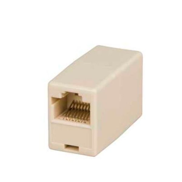 Image of Spire Coupler for RJ45 CAT5E (100/1000Mbps) Patch Cables, Female To Female