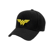 Wonder Woman - Logo Baseball Cap Black