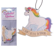 Summer Berry Fragranced Unicorn (Pack Of 6) Air Freshener