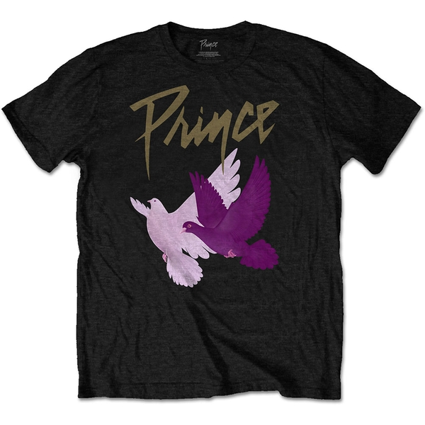 Prince - Doves Men's Large T-Shirt - Black