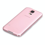 YouSave Accessories Samsung Galaxy S5 0.6mm Ultra Thin Gel Case - Baby Pink